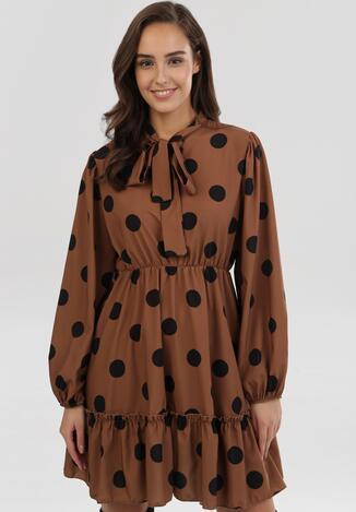 Brązowa Sukienka Cleartrack