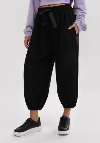Czarne Spodnie Frozensing