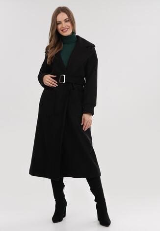 Czarny Płaszcz Swiftsun