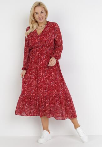 Czerwona Sukienka Fullshout