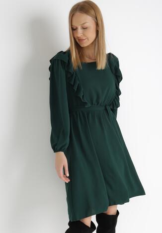 Zielona Sukienka Whifflelace