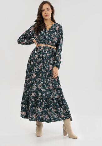 Zielona Sukienka Uanlan