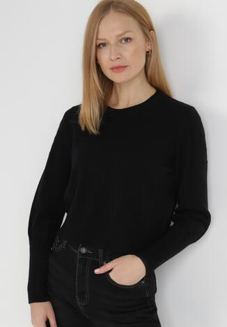Czarny Sweter Zaurg