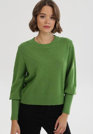 Zielony Sweter Zaurg