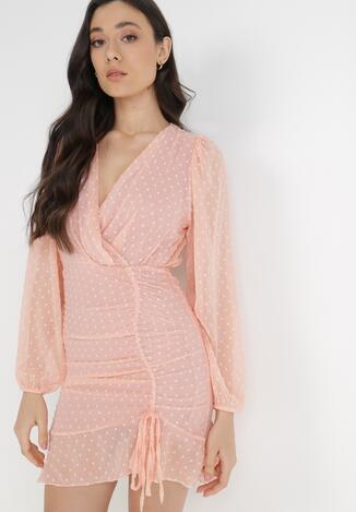 Jasnoróżowa Sukienka Liza