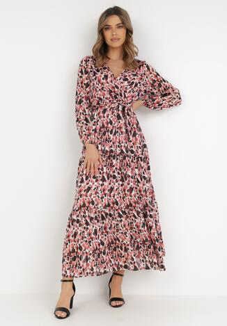 Różowa Sukienka Balnas