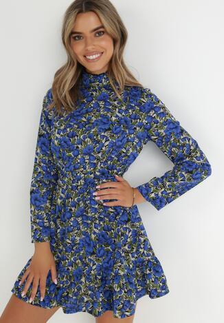 Niebieska Sukienka Erfir