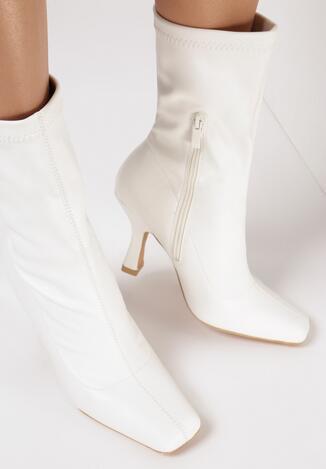Białe Botki Xilrel