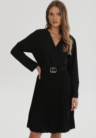 Czarna Sukienka Caiwenys