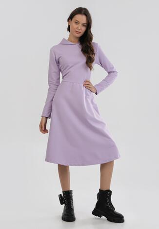 Jasnofioletowa Sukienka Kimolia