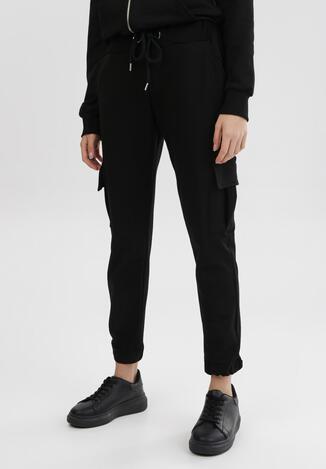 Czarne Spodnie Dresowe Phirelia