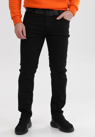 Czarne Spodnie Slim Cherine