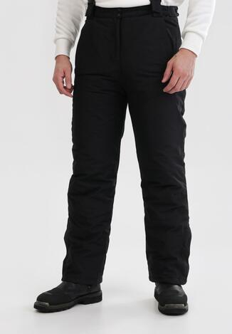 Czarne Spodnie Narciarskie Daeiles