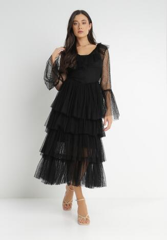 Czarna Sukienka Guinemeda