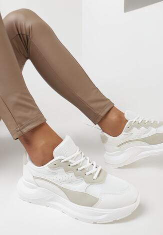 Białe Sneakersy Eireshell