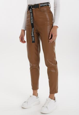 Brązowe Spodnie Delmaroe