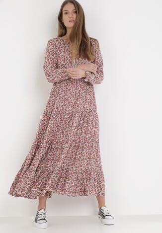 Różowa Sukienka Phaisite