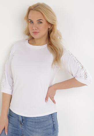 Biała Bluzka Acosiasse