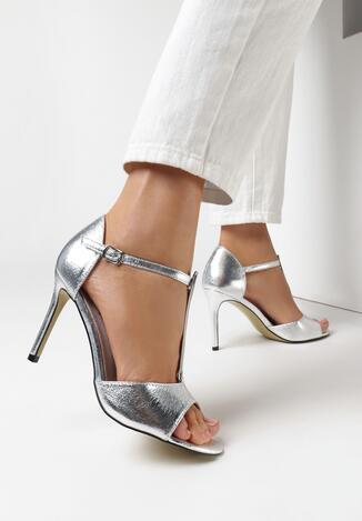 Srebrne Sandały Prisertise