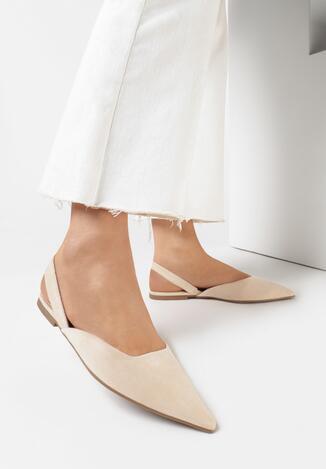 Beżowe Sandały Aethithis