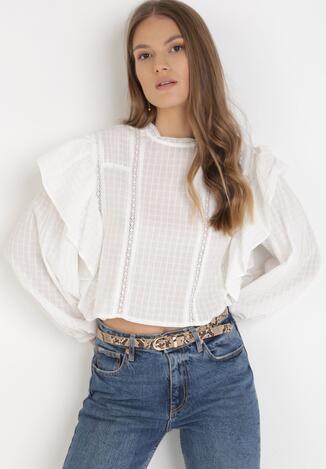 Biała Bluzka Coraseise