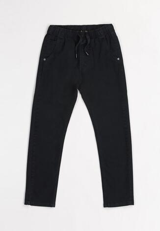 Granatowe Spodnie Briyanna