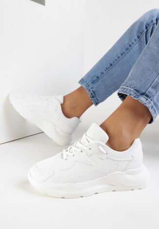 Białe Sneakersy Gwinen
