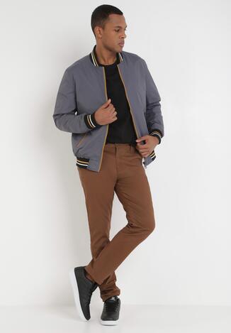 Brązowe Spodnie Karise