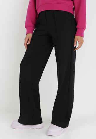 Czarne Spodnie Szerokie Geniriel