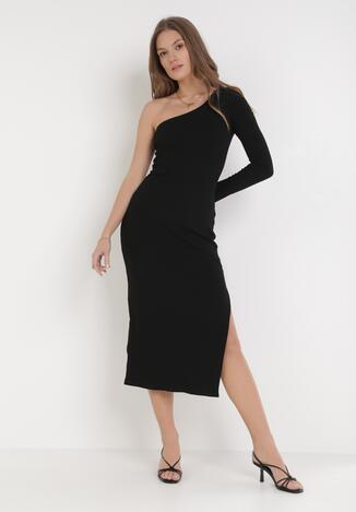 Czarna Sukienka Aristolos