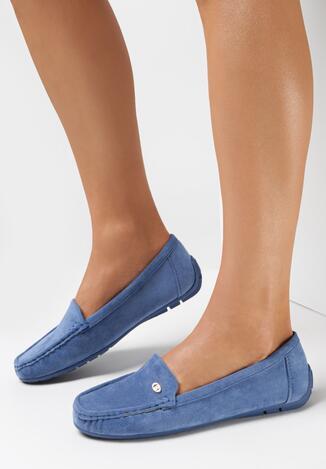 Niebieskie Mokasyny Helinele