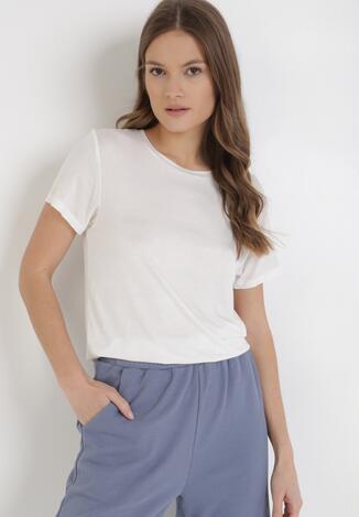Biały T-shirt Mastria