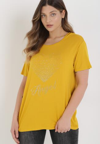 Żółty T-shirt Avae