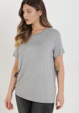 Szary T-shirt Cayelyn