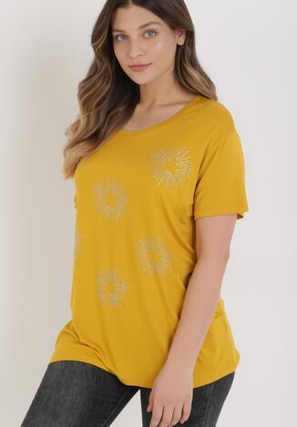 Żółty T-shirt Cayelyn