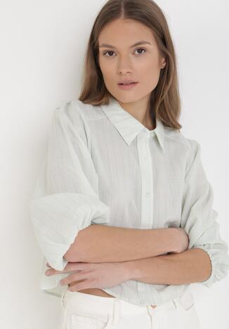 Miętowa Koszula Erixa
