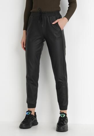 Czarne Spodnie Allany