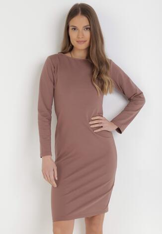 Ciemnoróżowa Sukienka Sanya