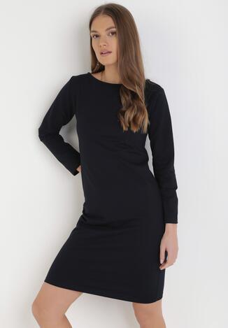 Ciemnogranatowa Sukienka Sanya