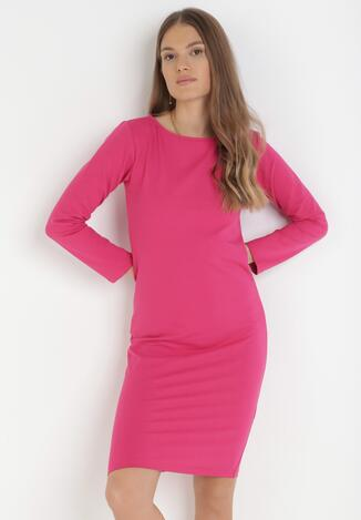 Różowa Sukienka Sanya
