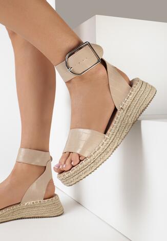 Beżowe Sandały Cayelyn