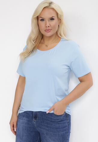 Jasnoniebieski T-shirt Larailis