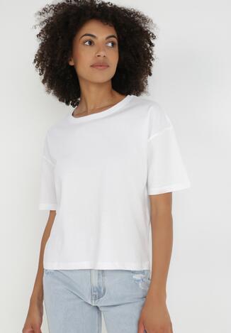 Biały T-shirt Olothana