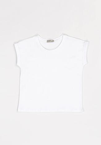 Biała Koszulka Jabril