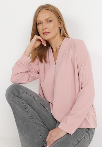 Różowa Bluzka Shafiel