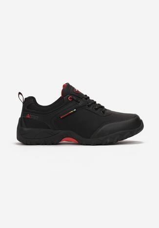 Czarno-Czerwone Buty Sportowe Mawu