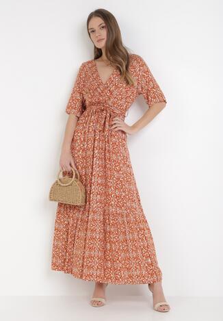 Łososiowa Sukienka Perpetiel
