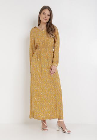 Żółta Sukienka Gwyn