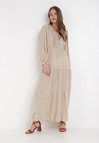 Kremowa Sukienka Yoriara