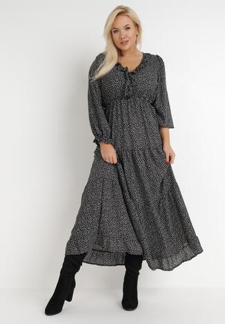Czarna Sukienka Yoriara